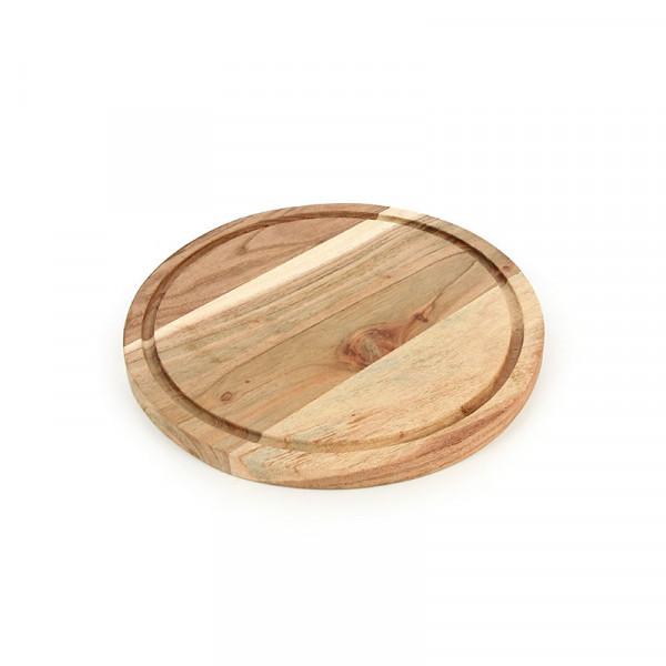 Holzteller ASADO - Grill und Pizza - Akazienholz