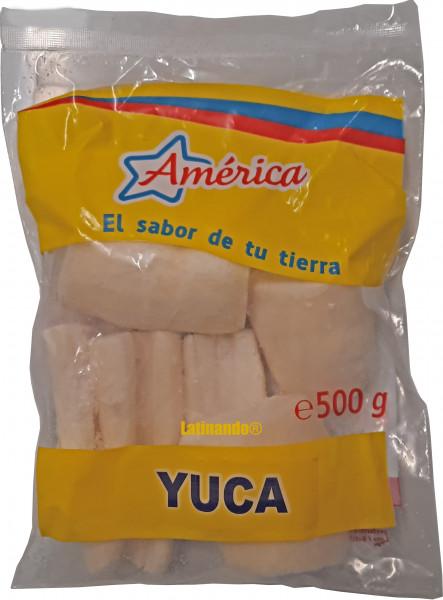 Yuca - Maniok - Cassava - Mandioca - AMERICA - 500g