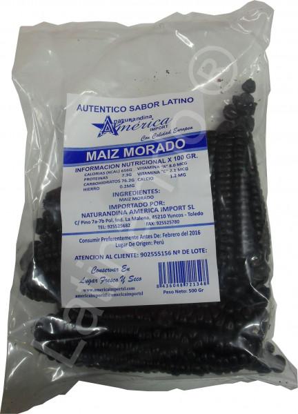 Lila Mais - Maiz morado aus Peru - 500g