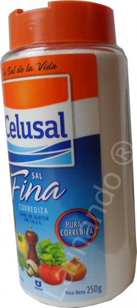 Feines Salz - CELUSAL - Salzspender 250g