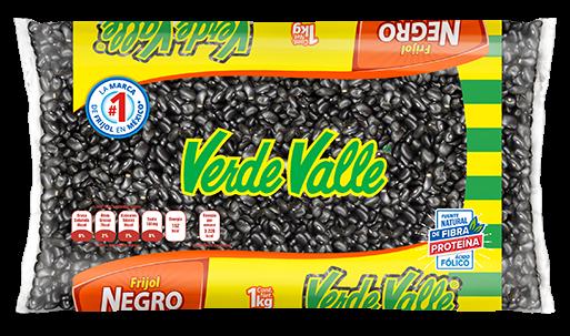 Frijol Negro - VERDE VALLE - 1Kg