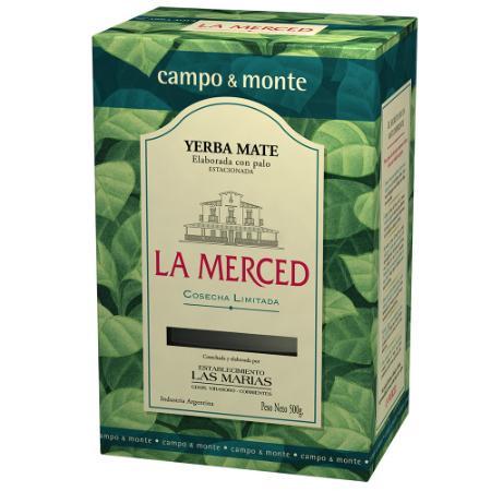 Mate Tee LA MERCED CAMPO-MONTE 500g