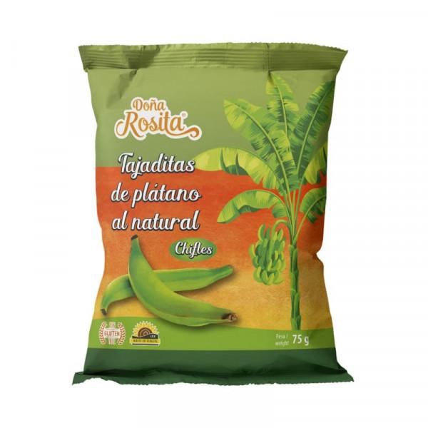 Tajaditas de Platano con Sal - Chifles - Kochbananenchips gesalzen