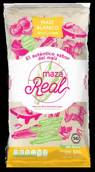 Nixtamalisiertes weißes Maismehl für Tortillas MAZAREAL