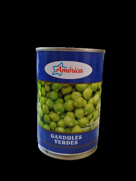 Grüne Straucherbsen - Gandules verdes - Guandules 425g