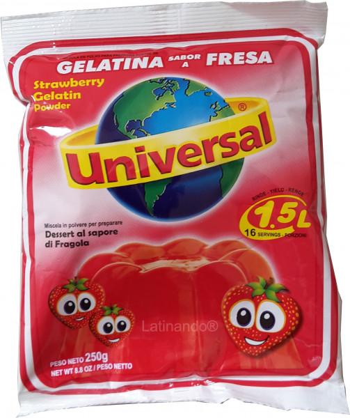 Gelatine UNIVERSAL (Peru) - ERDBEER FRESA - 250g