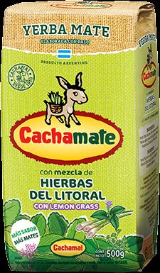 Cachamate Hierbas del Litoral - Mate Tee mit Kräuter 500g