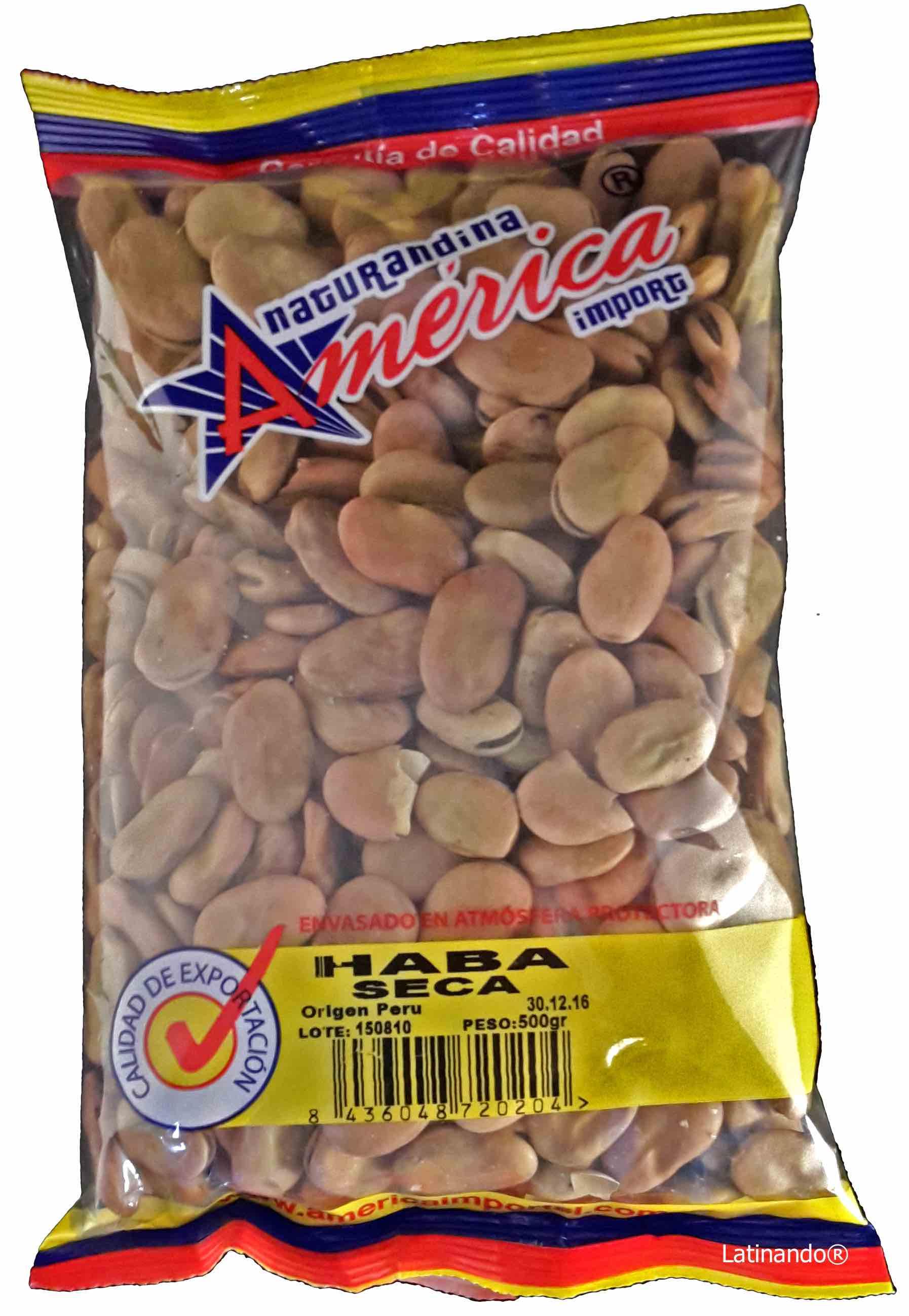 Getrocknete Limabohnen Habas Secas 500g Latinando