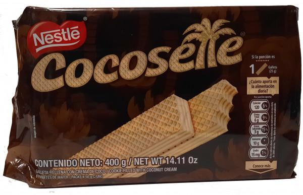 Cocosette Nestle Waffeln mit Kokosnusscreme aus Kolumbien