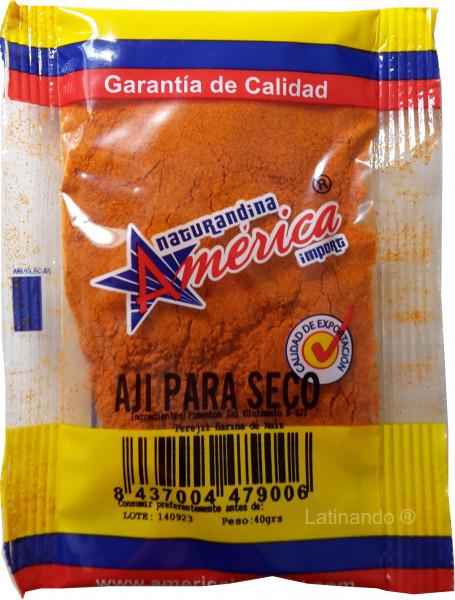 Getrockneter Para Chili - Aji para seco - Ecuador - 40g