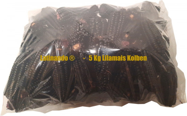Getrockneter Lilamais Kolben - Maiz morado 5Kg