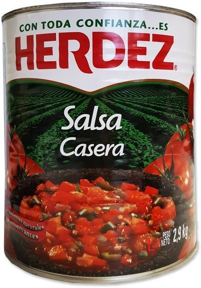 Salsa Casera - Hausmacher Sauce - HERDEZ