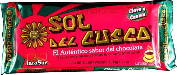 Sol del Cusco | Trinkschokolade mit Nelke und Zimt