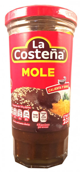 Mole Paste - La Costena - Mexiko - 235g