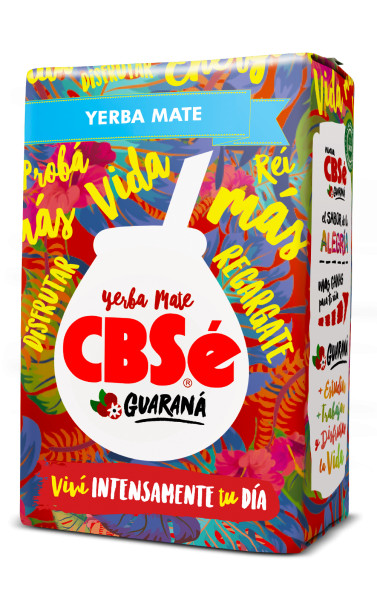 CBSE Energia GUARANA - Mate Tee 500g