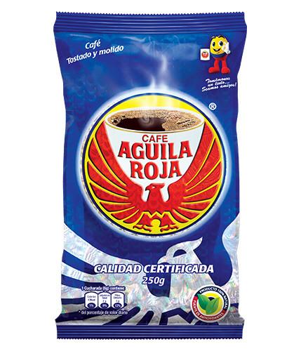 Cafe Aguila Roja - Kaffee gemahlen - 250g *MHD 13.10.21*
