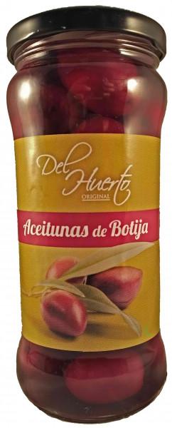 Schwarze Botija Oliven - Del Huerto