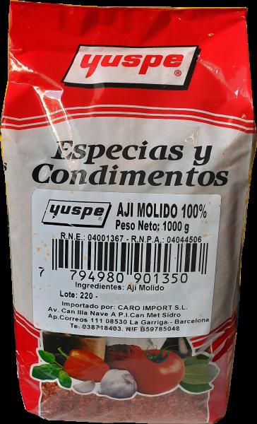Aji molido - Gemahlener Chili aus Argentinien - 1Kg