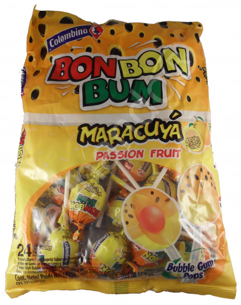 BON BON BUM - Maracuya - Lollipop Lollies