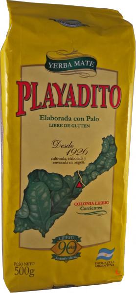 PLAYADITO - Mate Tee mit Stängel aus Argentinien - 500g