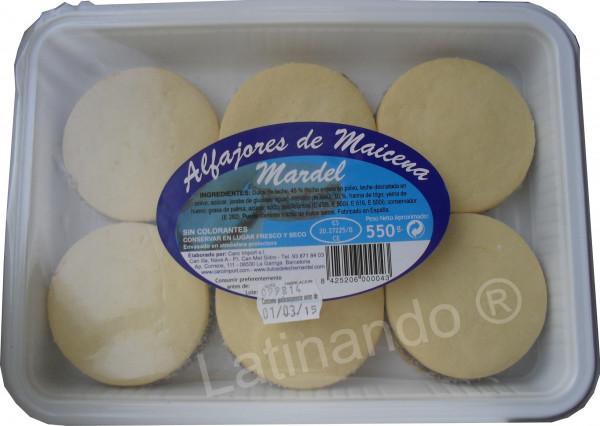 Alfajores de Maicena MARDEL - 6 Alfajores