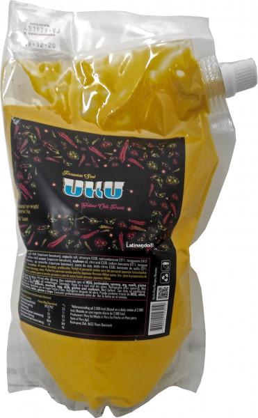Gelbe Chilisauce UKU - Doypack 1Kg