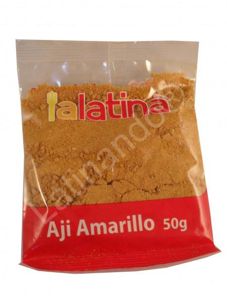 Gelber Chili gemahlen - Aji Mirasol molido - 50g