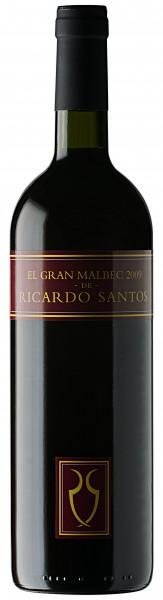 El Gran Malbec de Ricardo Santos - 750ml