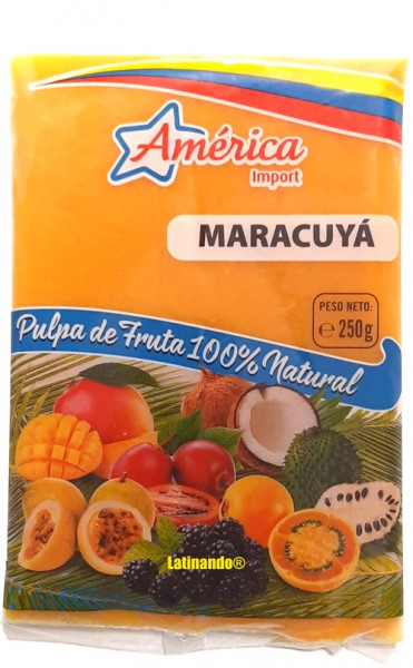 Pulpa de Maracuya - Maracuja Mark - Passionfruit - 250g